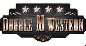 Double M Western logo