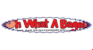 Oh What a Bagel! logo