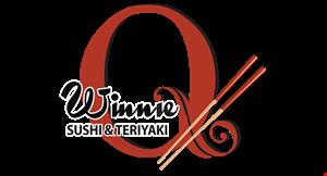 Winnie Q Sushie & Terriyaki logo