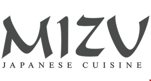 Mizu Japanese Cuisine logo