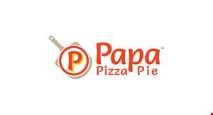 Product image for Papa Pizza Pie  $20.99 medium $24.99 large $26.99 x-large