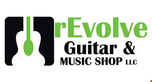 Product image for Revolve Guitar & Music Shop LLC $25 off first month of lessons