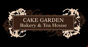 Cake Garden Bakery & Tea House logo