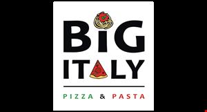 Big Italy Pizza & Pasta logo