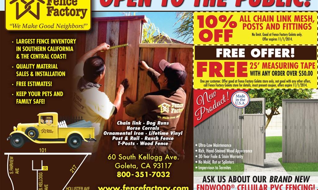 Product image for Fence Factory Adjustable metal gate frame for $199.99.