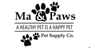 Ma & Paws Pet Supply Co. logo