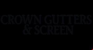 Crown Gutters & Screen logo