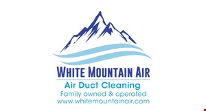 Product image for White Mountain Air $7 PER VENT AND RETURN LINES. REGULARLY $14 EACH. SPECIAL OFFER ALSO INCLUDES: Complete system inspection with written recommendations.