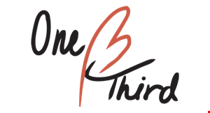 One Third Asian Cuisine Sushi &Grill logo