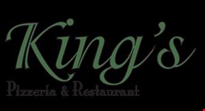 King's Pizzeria & Restaurant logo
