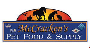 McCraken's Pet Food & Supply logo