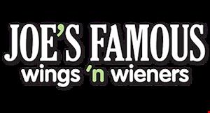 Joe's Famous Wings 'N Wieners logo