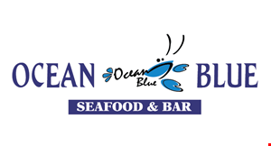 Product image for Ocean Blue Seafood and Bar $10 OFF any purchase of $60 or more