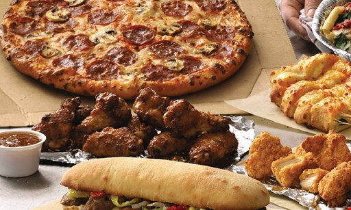 Product image for Dominos Carryout Special $11.99 +tax. Any Size Pizza, Any Crust, Any Toppings!