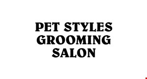 Product image for Pet Styles Grooming Salon $5 off any bakery product purchase of $20 or more
