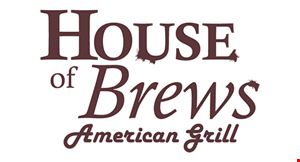 House of Brews American Grill logo