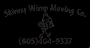 Skinny Wimp Moving Co logo
