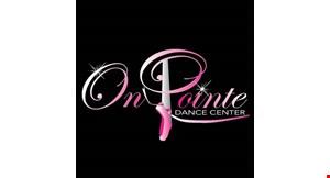 On Pointe Dance Center logo
