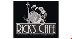 Ricks Cafe logo