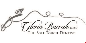 Gloria Barredo DMD The Soft Touch Dentist logo