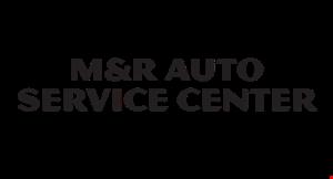 M & R Auto Service Center logo