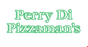 "Product image for PERRY DI PIZZAMAN'S $16.00 20"" master with 1 topping."
