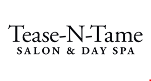 Tease-N-Tame Salon & Day Spa logo