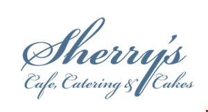 Sherry's Cafe, Catering and Cakes logo