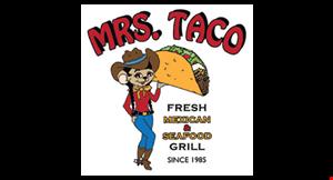 Mrs. Taco logo