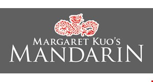 Product image for Margaret Kuo's Mandarin $15 For $30 Worth Of Chinese & Japanese Dining