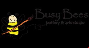 Busy Bees Pottery & Arts Studio logo