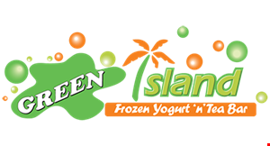Green Island Frozen Yogurt 'N' Tea Bar logo