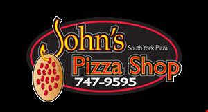 John's Pizza Shop logo