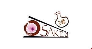 Osake 21 Asian Fusion & Sake Bar logo