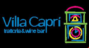 Villa Capri Trattoria & Wine Bar logo