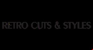 Retro Cuts & Styles logo