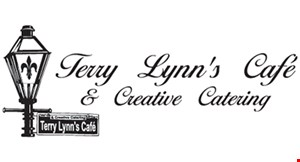 Product image for Terry Lynn's Cafe & Creative Catering $5 off your next food purchase of $40 or more