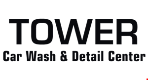 Tower Car Wash & Detail Center logo