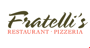 Product image for Fratelli's Restaurant & Pizzeria $20 For $40 Worth Of Italian Cuisine (Also Valid On Take-Out W/ Min. Purchase Of $60)