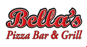 Product image for Bella's Pizzeria $10 off any check of $30 or more dine in or take-out