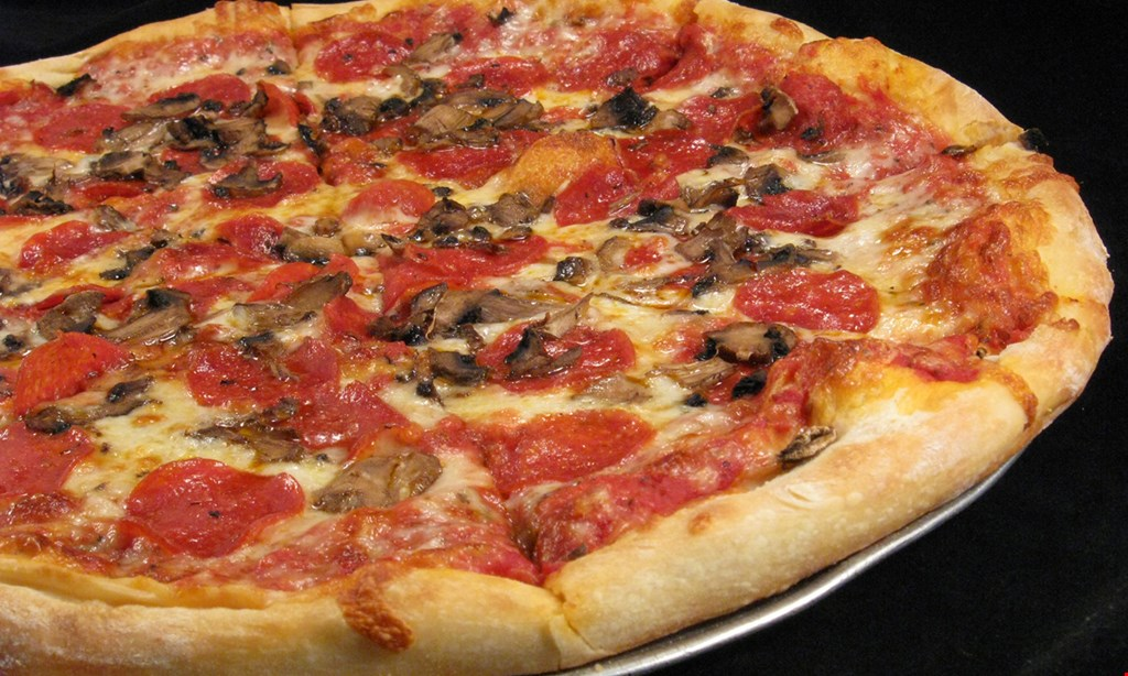 Product image for Bella's Pizzeria Take-Out Special: 50% off any large 2-topping pizza, take-out only.