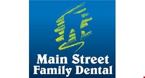 Main Street Family Dental logo
