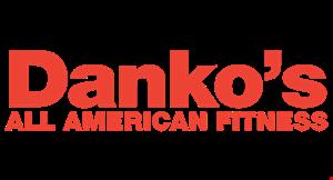 Danko's All-American Fitness logo