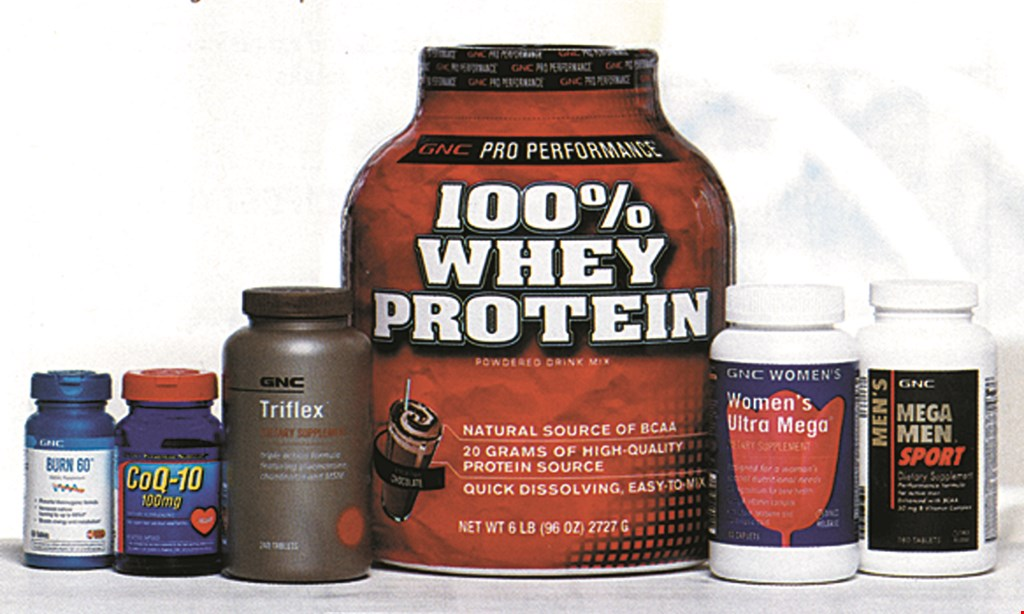 Product image for GNC 25% OFF ANY 1 Item Storewide.
