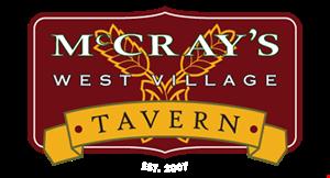 Mccray's West Village Tavern logo