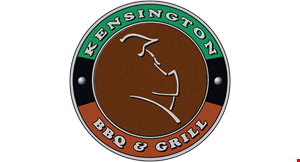 Product image for Kensington Grill $5 OFF any purchase of $30 or more.