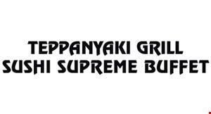 Teppanyaki Grill Sushi Supreme Buffet logo