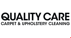 Quality Care Carpet & Upholstery Cleaning logo