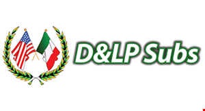 D&LP Pizza and Subs logo