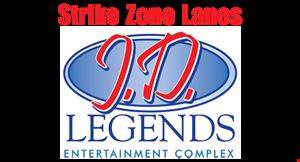 J.D. Legends Entertainment Complex logo